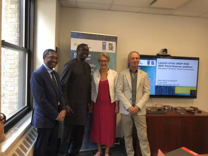 Press release: UNDP and RISE Research Institutes of Sweden launch 'SDG Trend Scanner'