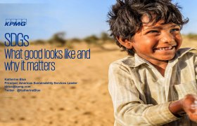 Presentation by Katherine Blue: SDGs – What good looks like and why it matters