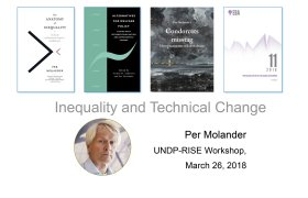 Presentation by Per Molander: Inequality and Technical Change Presentation